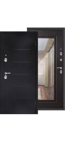 Двери Форпост /  Входная дверь СИТИ-ЗЕРКАЛО венге