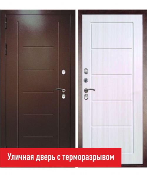 ВХОДНАЯ ДВЕРЬ Форпост ДВЕРНОЙ КОНТИНЕНТ ТЕРМАЛЬ ЭКСТРА ЛИСТВЕННИЦА