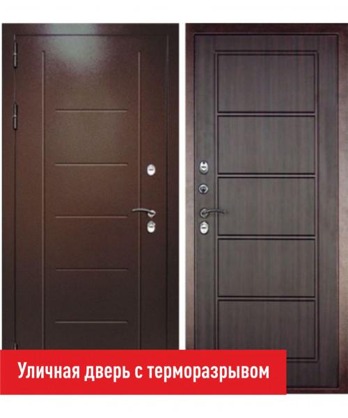 ВХОДНАЯ ДВЕРЬ Форпост ДВЕРНОЙ КОНТИНЕНТ ТЕРМАЛЬ ЭКСТРА ВЕНГЕ