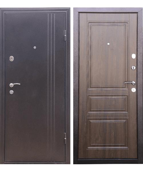 Входная дверь Дверной континент ТУРИН (орех)