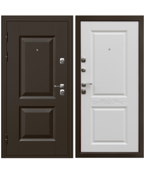 Входная дверь Дверной континент Гранд Белая