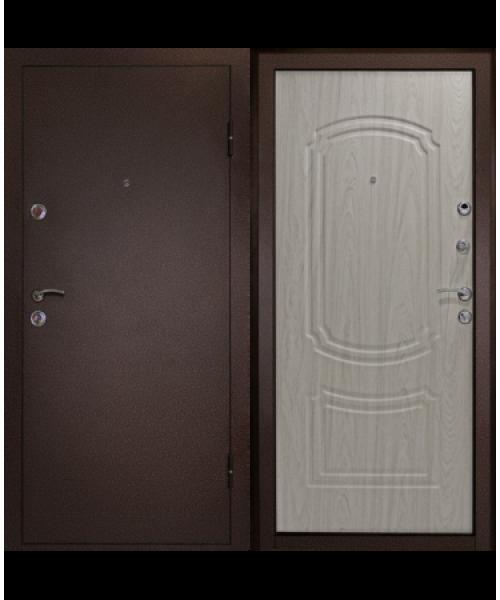 Входная дверь Дверной континент ФАВОРИТ БЕЛЕНЫЙ ДУБ