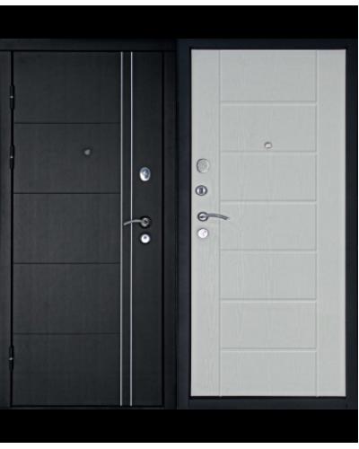 Входная дверь ТЕПЛОЛЮКС (Беленый Дуб)