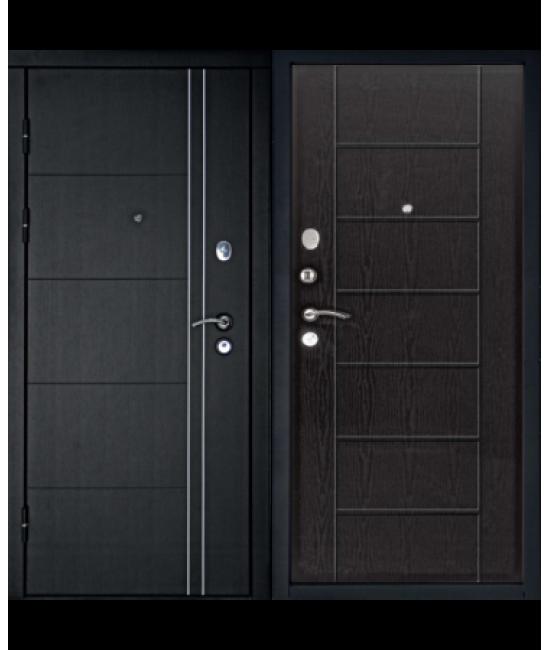 Входная дверь ТЕПЛОЛЮКС (венге)