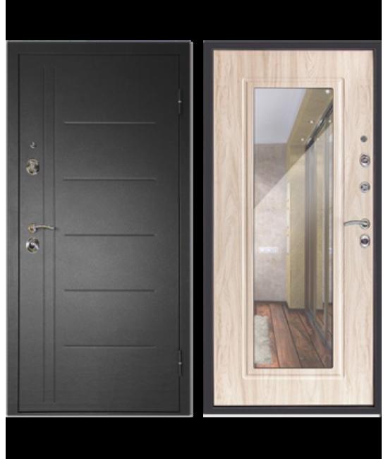 Двери Форпост /  Входная дверь СИТИ-ЗЕРКАЛО дуб сонома