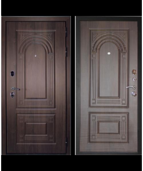 Входная дверь Форпост Дверной континент ФЛОРЕНЦИЯ орех мокко