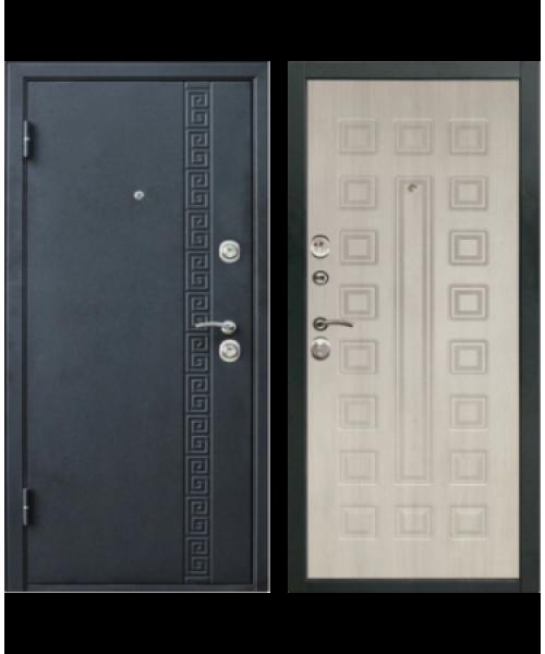Входная дверь ДК СИТИ 1 беленый дуб