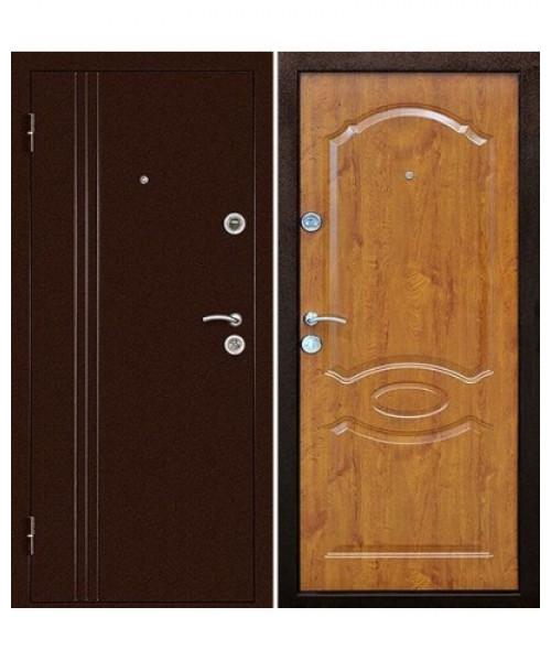 Входная дверь ЭКСТРА Золотой Дуб