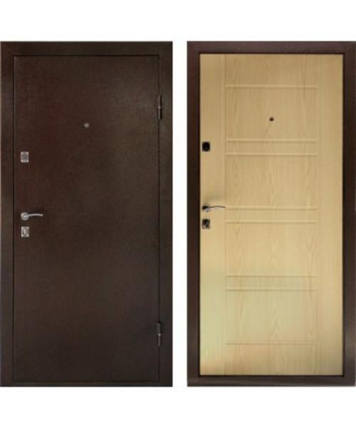 Входная дверь Дверной континент КОМФОРТ (Беленый дуб)