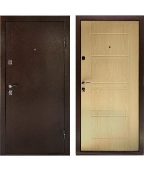Двери Форпост /  Входная дверь ДК КОМФОРТ (Беленый дуб )