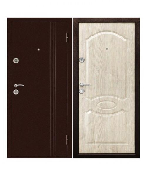 Входная дверь ЭКСТРА Беленый Дуб