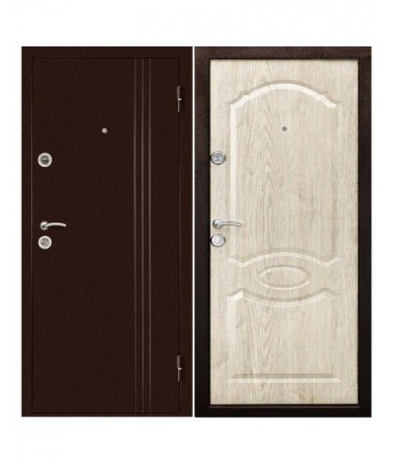 Двери Форпост /  Входная дверь ЭКСТРА Беленый Дуб