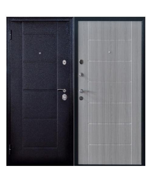 Входная дверь ФОРПОСТ КВАДРО 2 ЛИСТВЕННИЦА