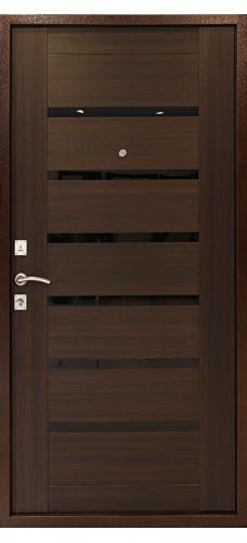 Двери Форпост /  Входная дверь ДК ОПТИМА С (ВЕНГЕ)