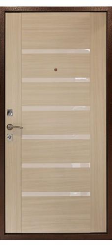 Двери Форпост /  Входная дверь ДК ОПТИМА С (ДУБ СВЕТЛЫЙ)