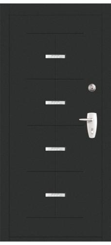 Двери Форпост /  Входная дверь TITAN ТЕМНЫЙ (Пандор Титан Темный)